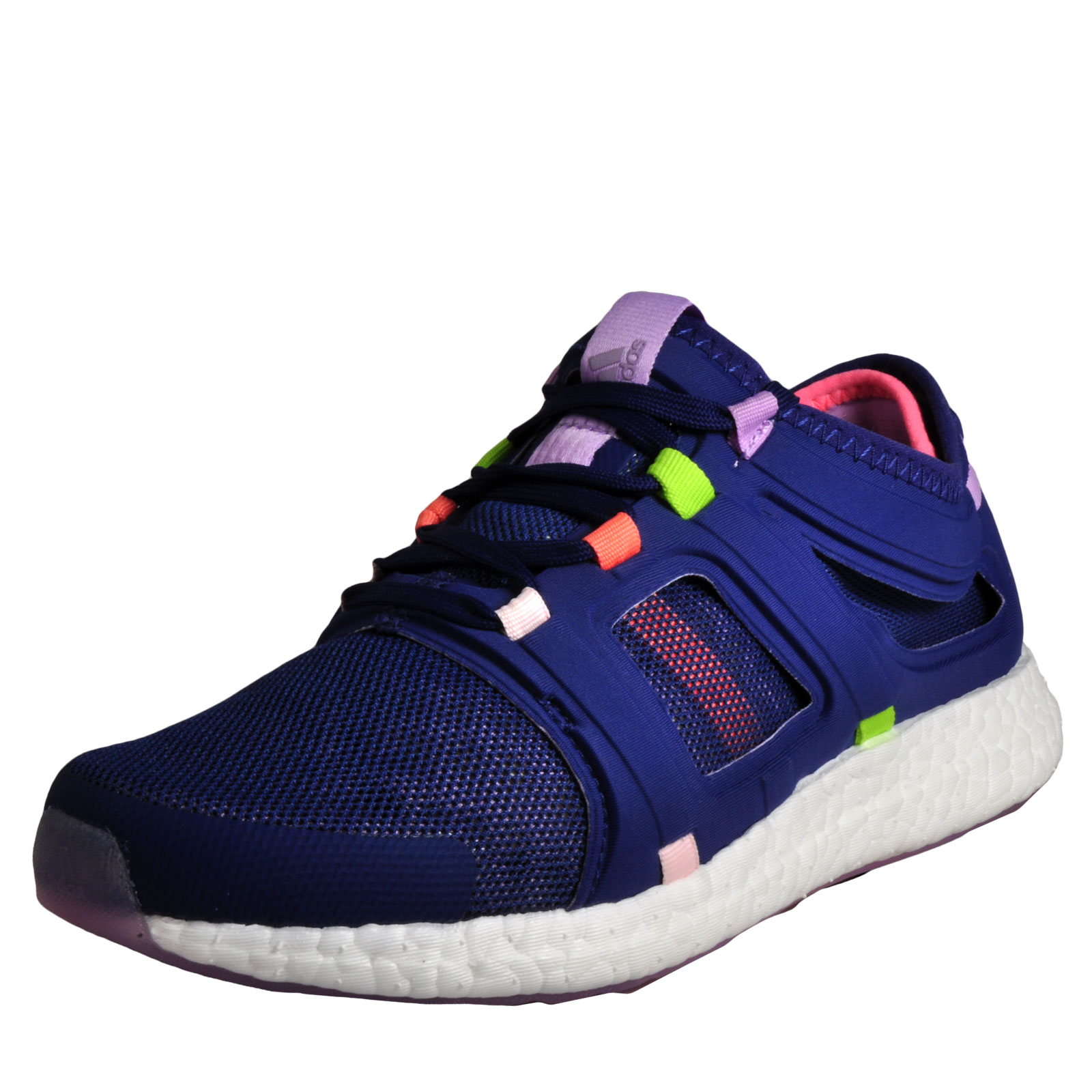 62e873bbbc626 Details about Adidas CC Rocket Boost Women s Running Shoes Fitness Gym  Workout Trainers Blue
