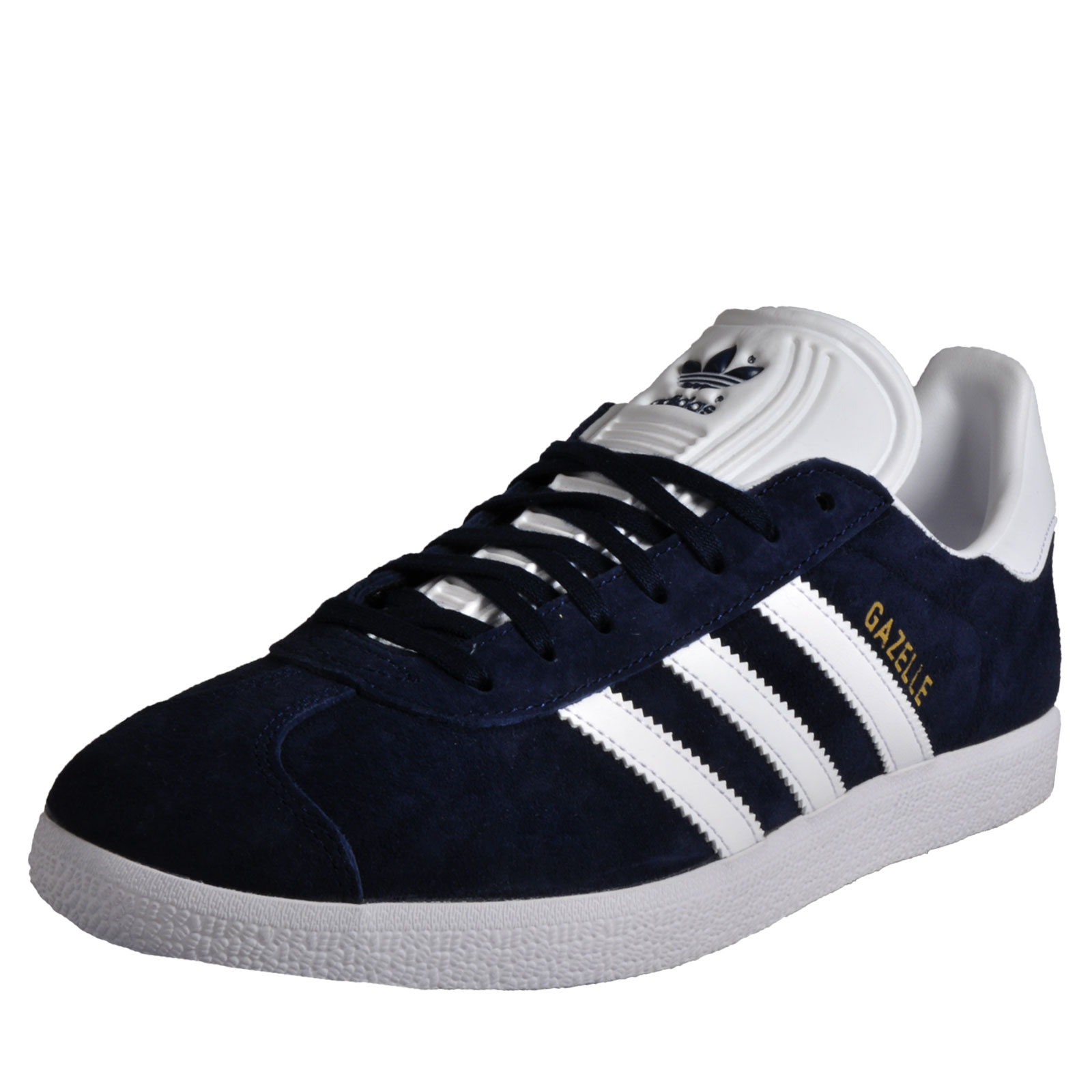 cc61e6f904011d Details about Adidas Originals Gazelle Men s Classic Casual Retro Vintage  Trainers Navy