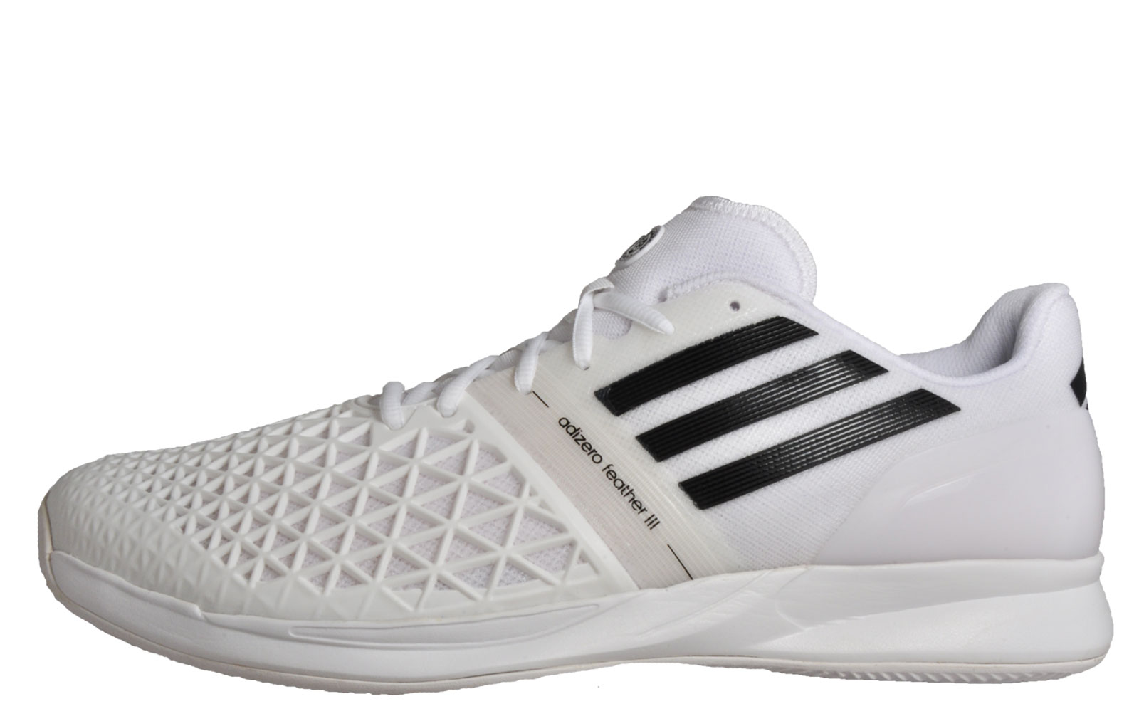 info for b7727 17fb7 Adidas CC Adizero Feather III RG Mens Tennis Shoes Court Fitness Trainers  White