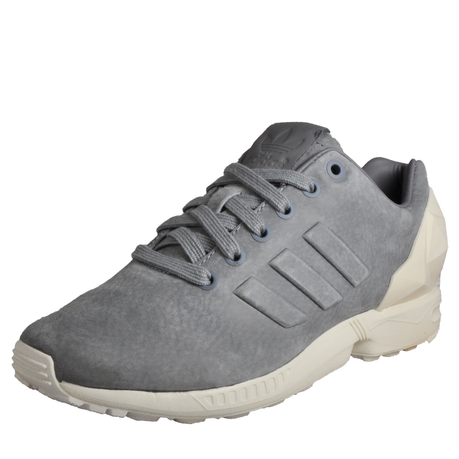 super popular 7f59b 74fd0 Adidas Originals ZX Flux Jewel Women s Classic Casual Retro Trainers Grey