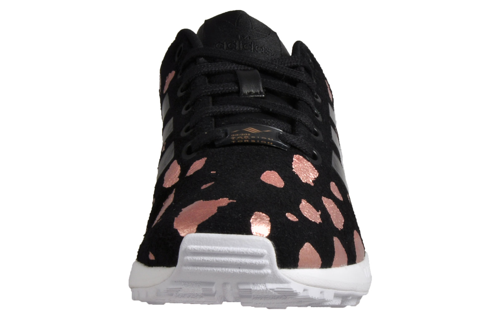 new style 8ed0a fc775 Adidas Originals ZX Flux Women s Classic Casual Retro Gym Trainers Black