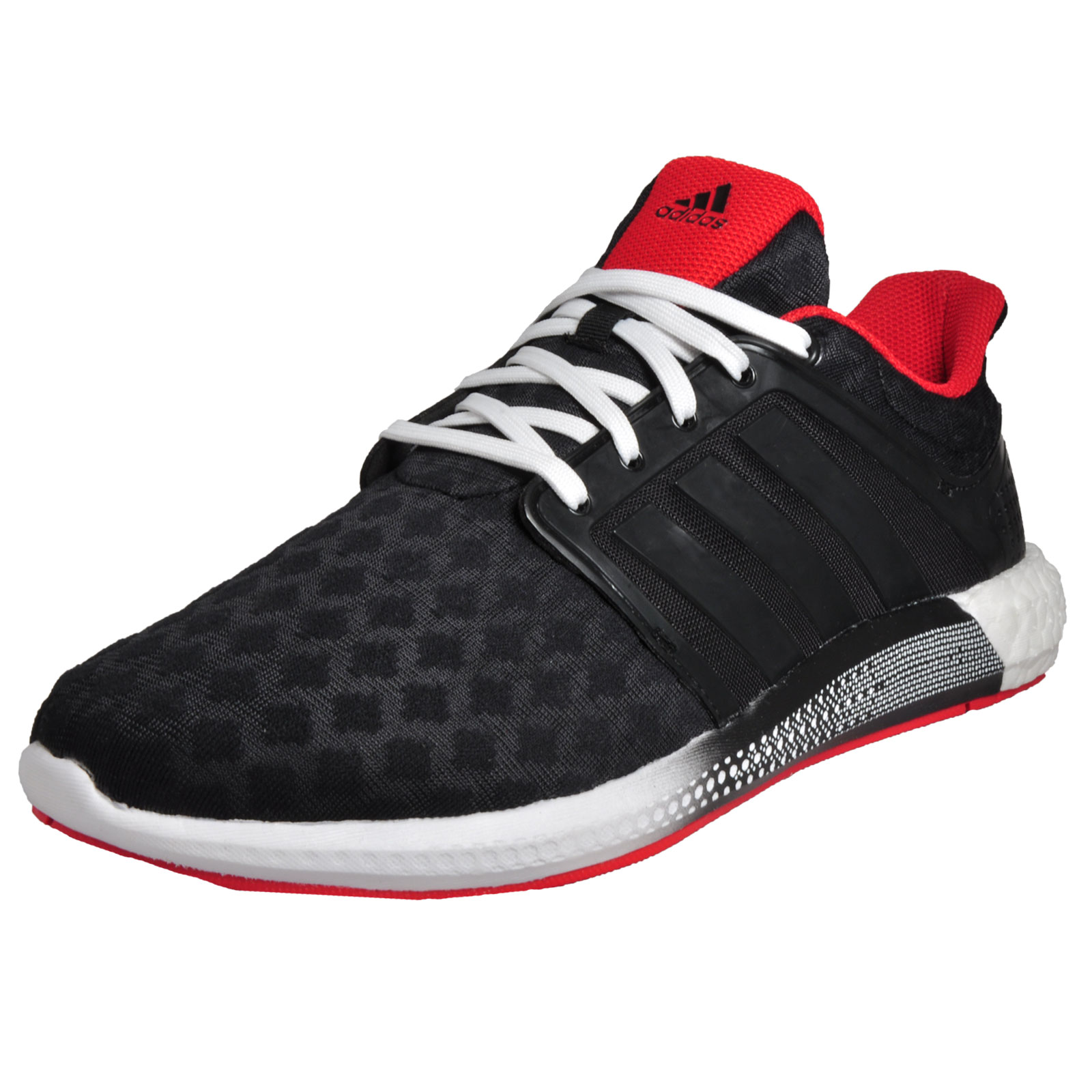 44167dd8df90c Details about Adidas Solar RNR Boost Mens Premium Performance Running Shoes  Gym Trainers Black