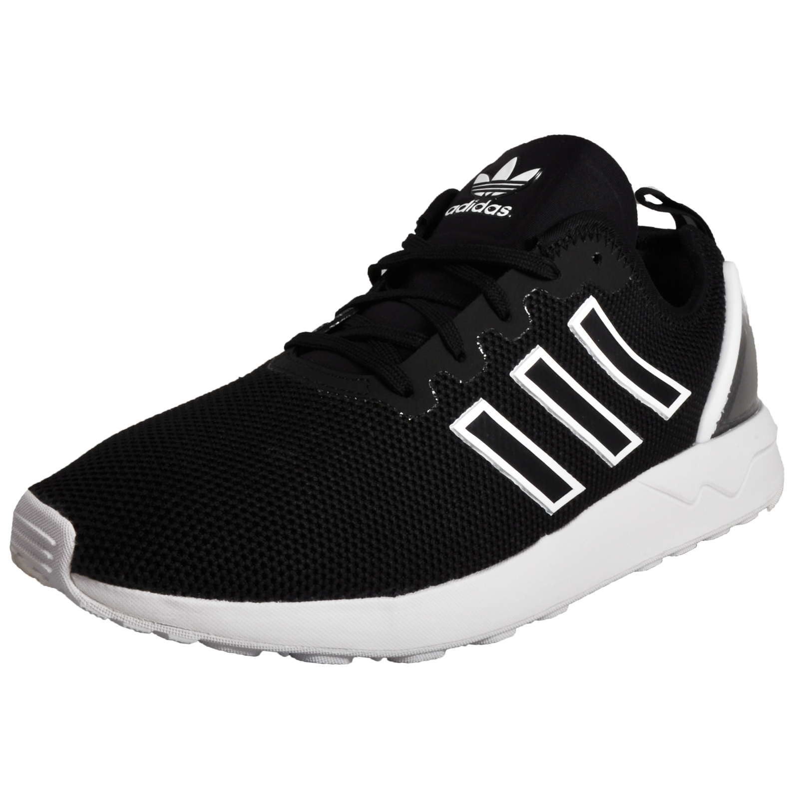 31f86a401e18d ... usa adidas originals zx flux adv junior retro running shoes trainers  black c4fa4 281c2