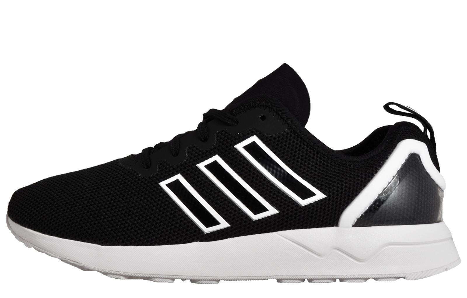 267a2f666de80 ... best adidas originals zx flux adv mens retro running shoes trainers  black 16606 826f2