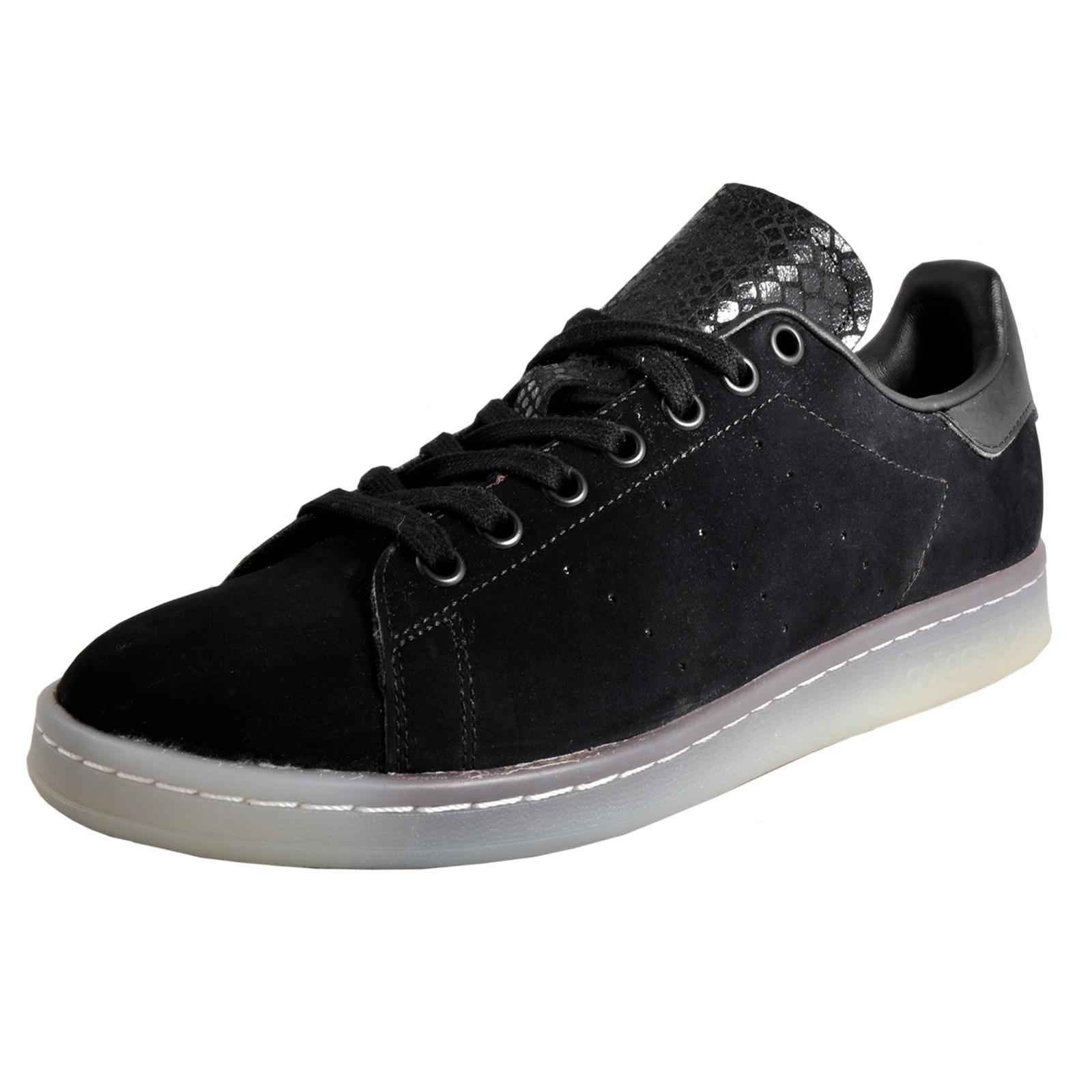 sale retailer 6a780 c044a Adidas Originals Stan Smith Mens Classic Casual Retro Trainers B Grade Black