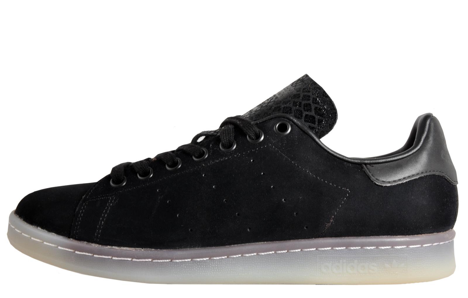 sale retailer 3bc8e b85f5 Adidas Originals Stan Smith Mens Classic Casual Retro Trainers B Grade Black