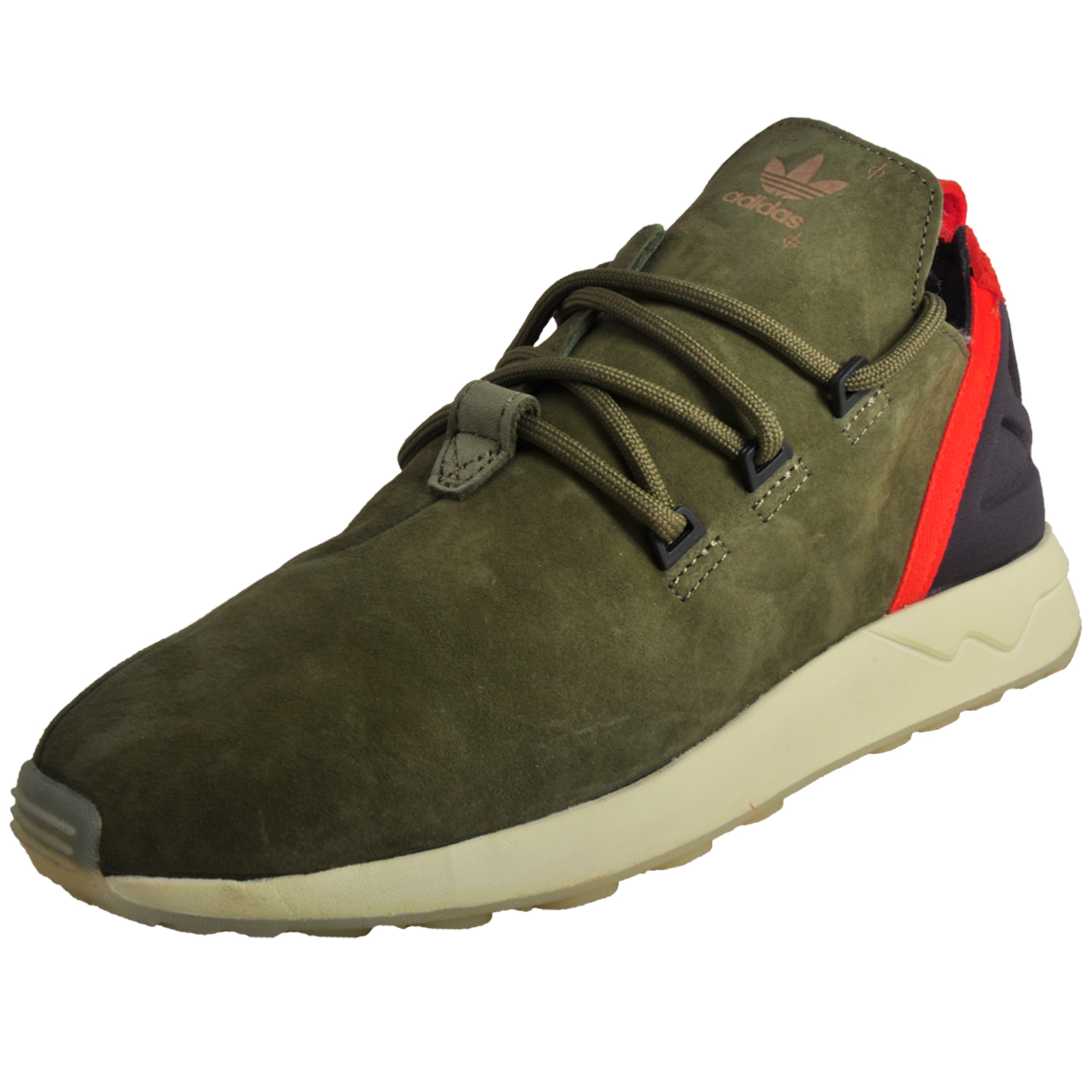 5068186f229d0 Details about Adidas Originals ZX Flux ADV X Limited Edition Mens Classic  Suede Trainers Green