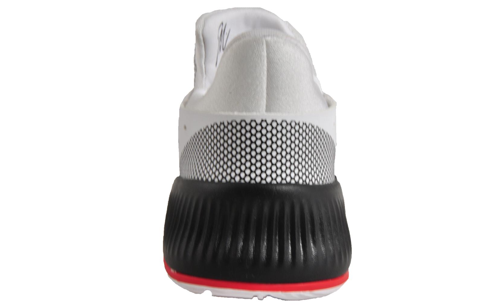 Adidas Damian Lillard 3 Childs Boys Basketball formadores blanco B