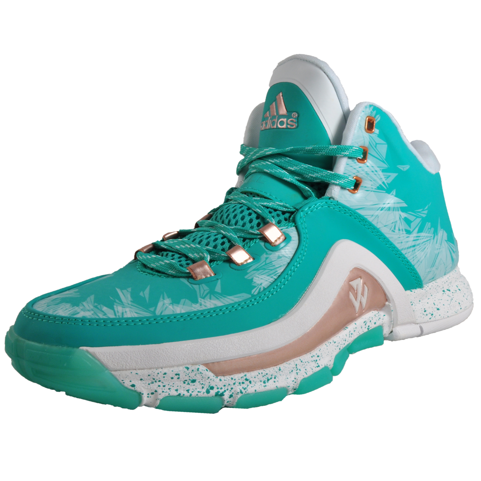 best website 7623f 9c580 Adidas John Wall 2 Limited Edition Premium Mens Basketball Trainers Green