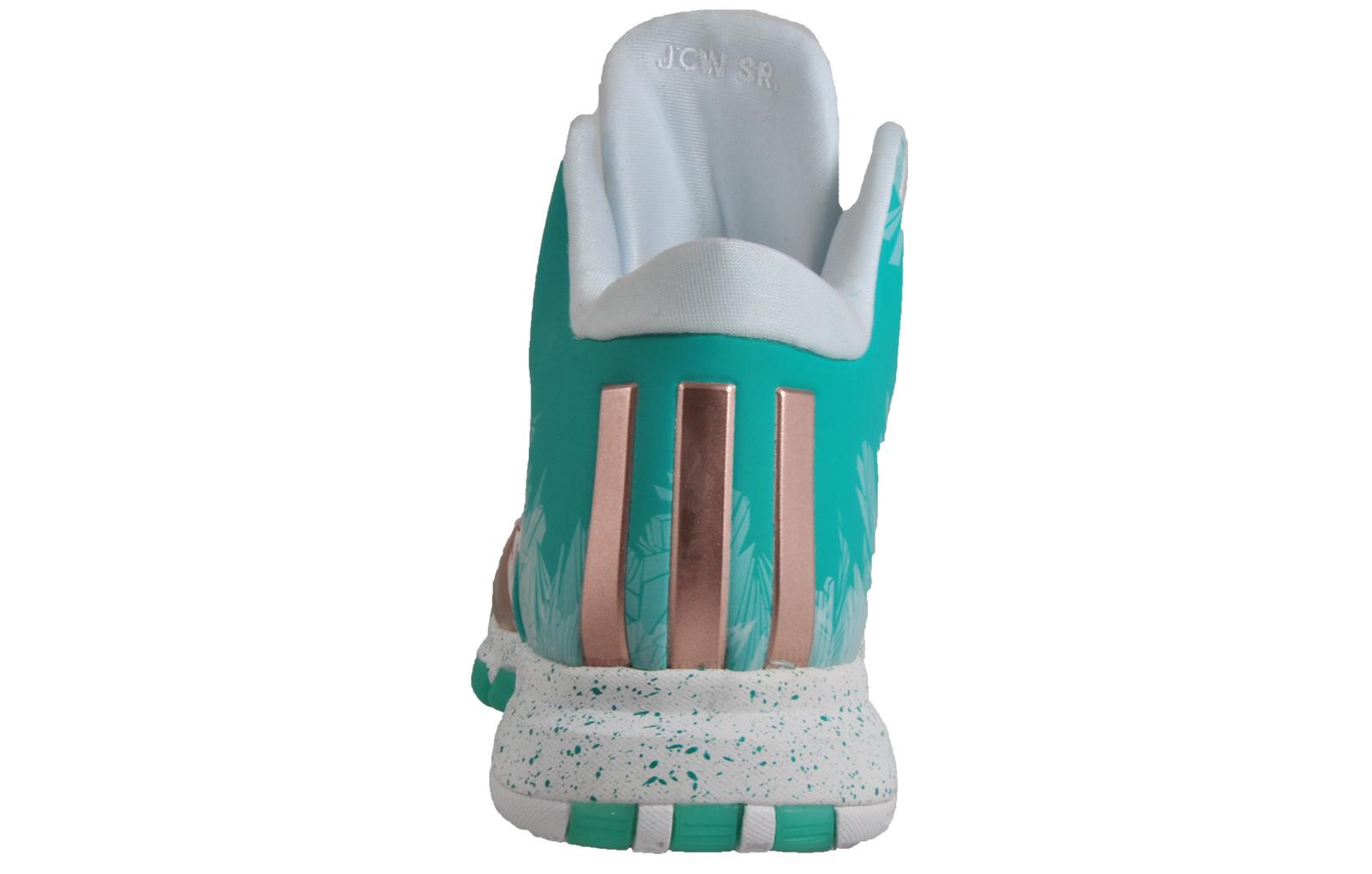 best website ca144 e9873 Adidas John Wall 2 Limited Edition Premium Mens Basketball Trainers Green