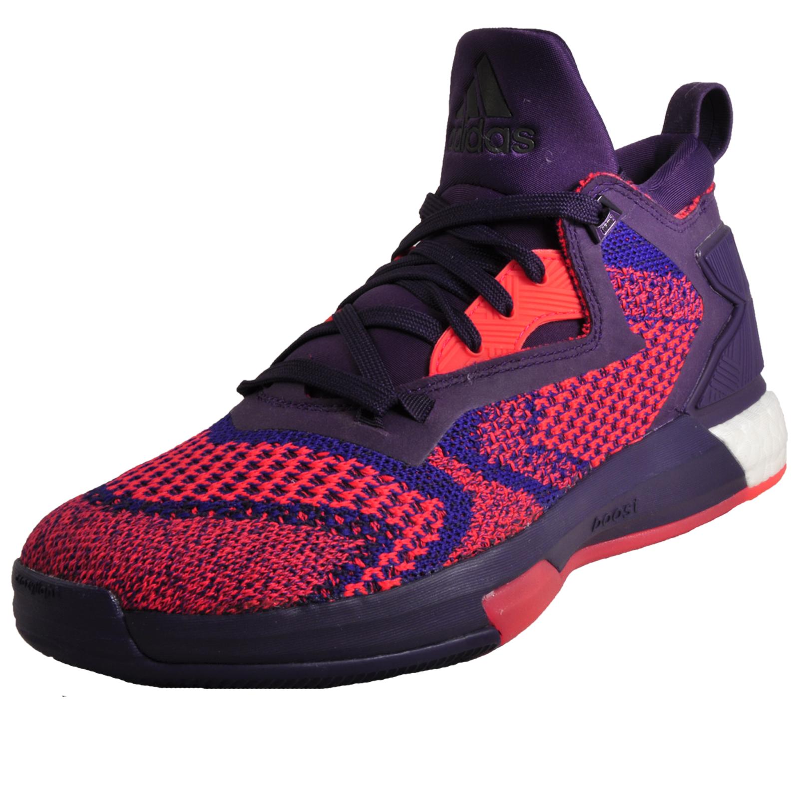 f6d3f2376 Adidas Damian Lillard 2 Boost Primeknit Mens Basketball Trainers Purple Ltd  Edition