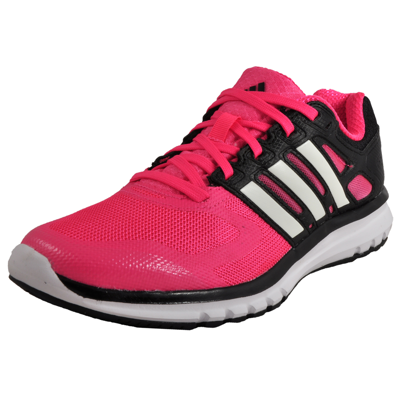 07f9fa468b15 Adidas Duramo Elite Womens Running Shoes Fitness Gym Workout Trainers Pink