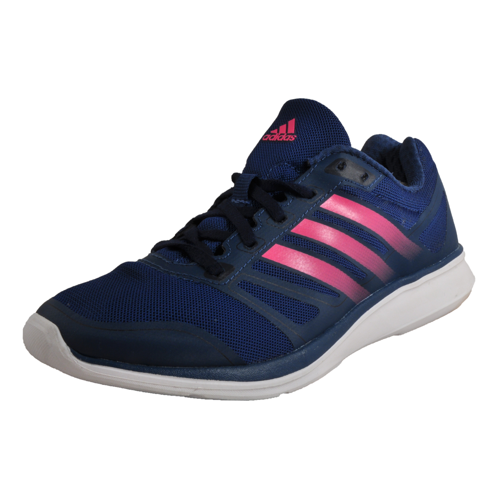 9369089c70af9 Details about Adidas Lite Speedster 3 Women s Running Shoes Fitness Gym  Trainers Navy