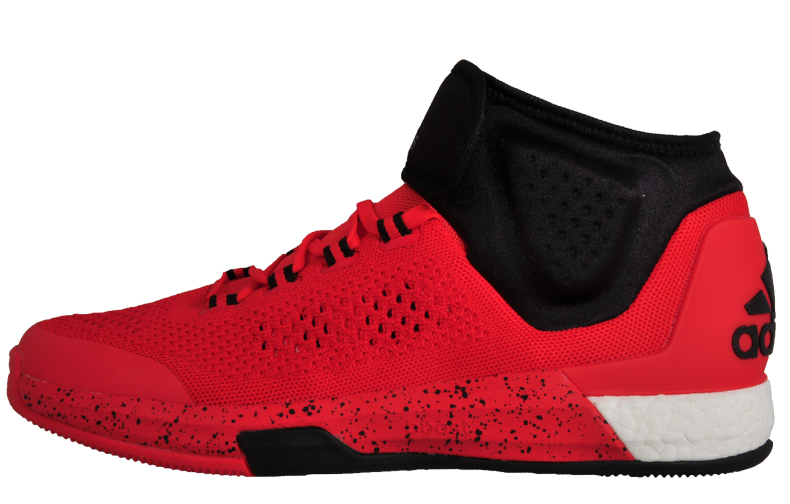 in stock 7e146 03474 Adidas Crazylight Boost Primeknit Premium Court Basketball Trainer Shoes Red