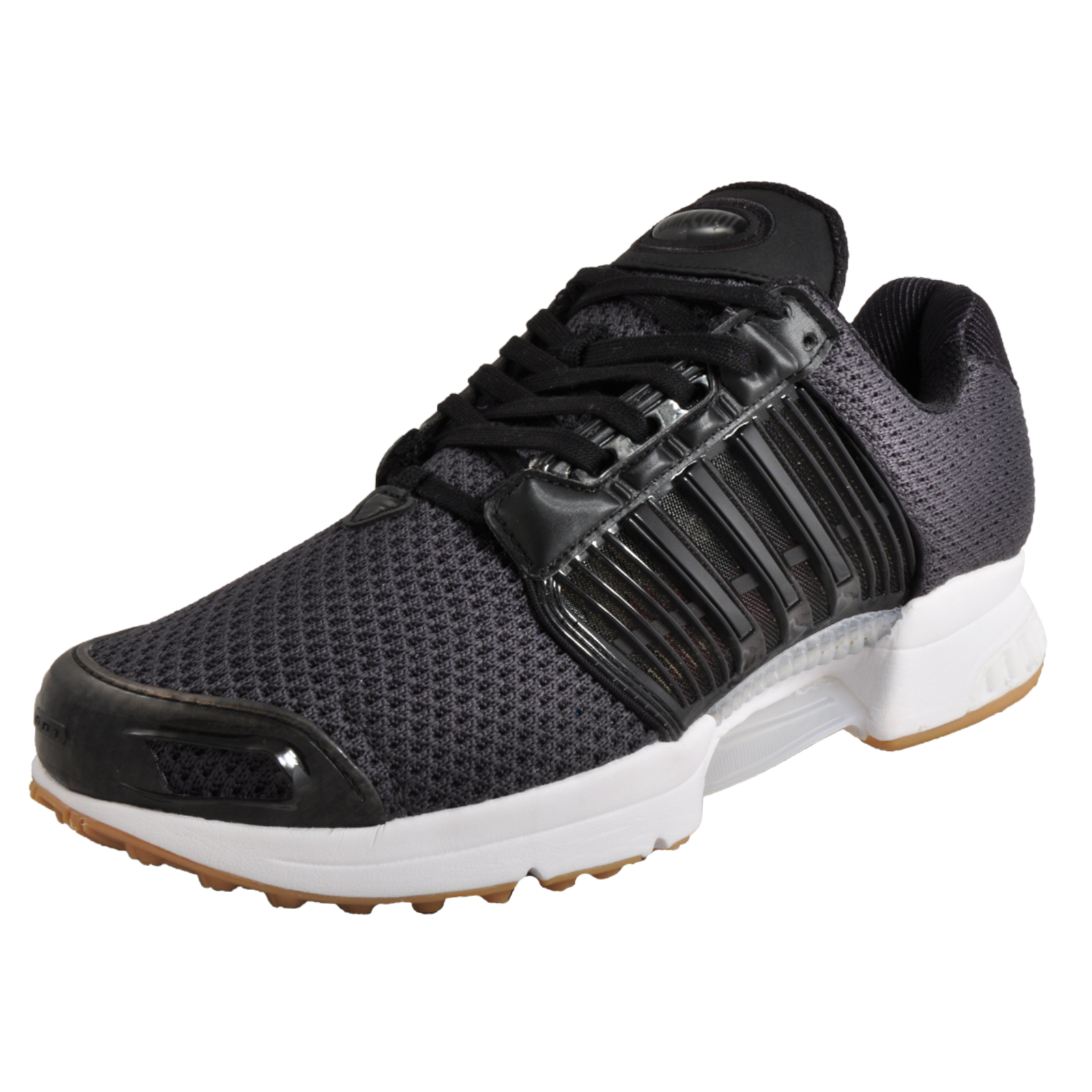d015781eda6 Details about Adidas Cimacool 1 Men s Retro Running Shoes Fitness Gym Trainers  Black