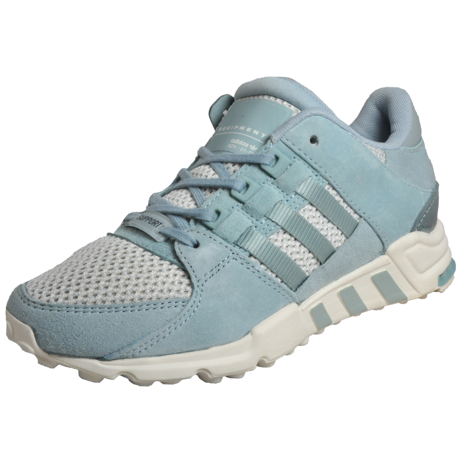 factory authentic 1e9a2 9316e Details about Adidas Originals EQT Support RF Women's Fitness Gym Workout  Trainers Green