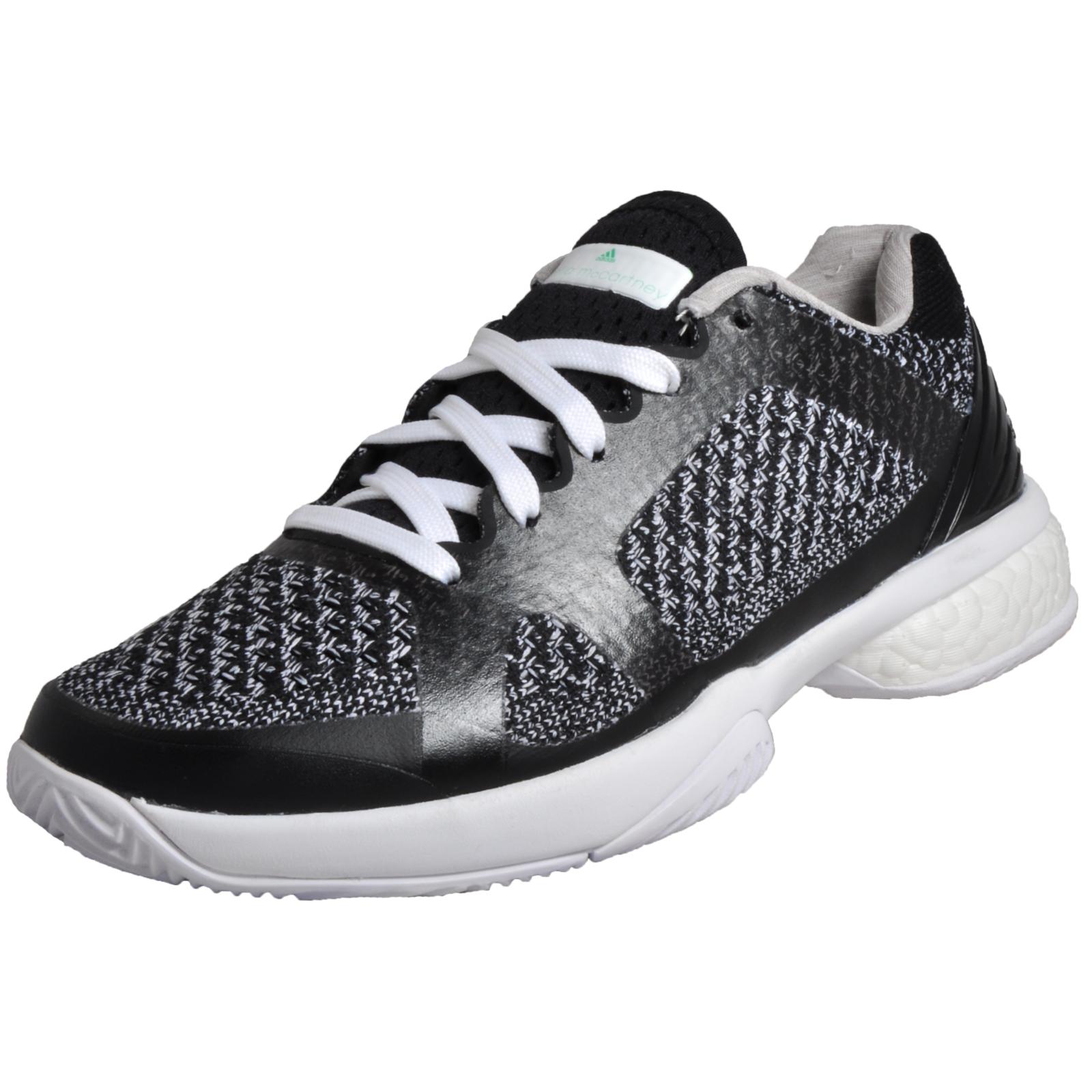 new style c2e31 6bd57 Details about Adidas ASMC Stella McCartney Barricade Boost Women s Tennis  Shoes Black