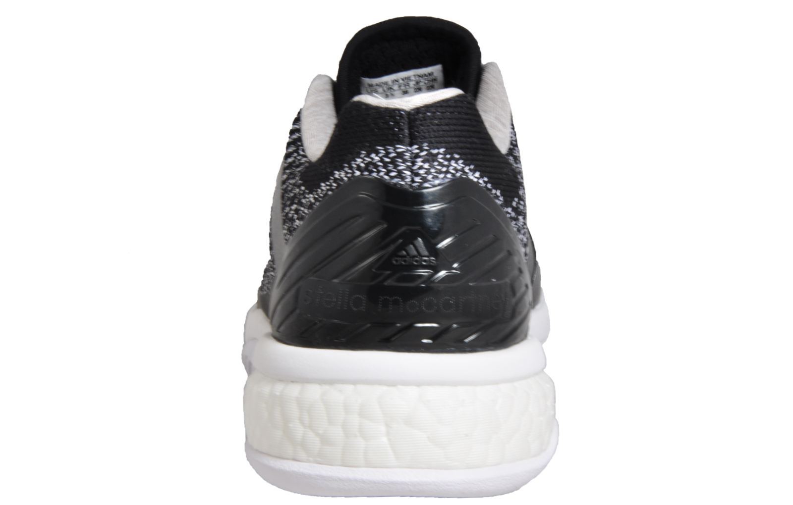 pick up 1082c 90ffb Adidas ASMC Stella McCartney Barricade Boost Women s Tennis Shoes Black