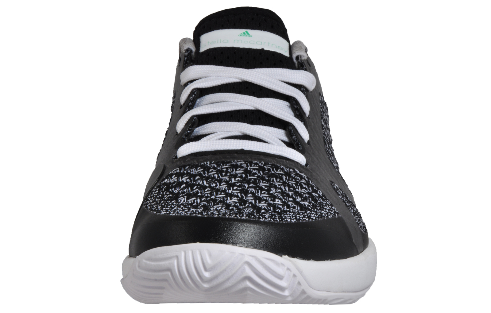 pick up 1082c 90ffb Adidas ASMC Stella McCartney Barricade Boost Women s Tennis Shoes Black