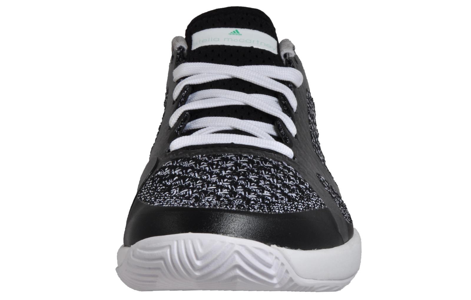 e6811eb9f71d3 Adidas ASMC Stella McCartney Barricade Boost Women s Tennis Shoes Black