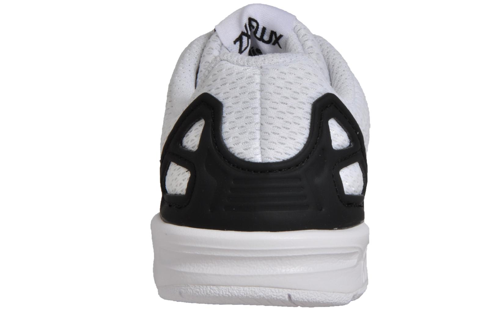 Adidas Originals ZX Flux EL Infants Toddlers Babies Classic Casual Trainers  White d64038c948e