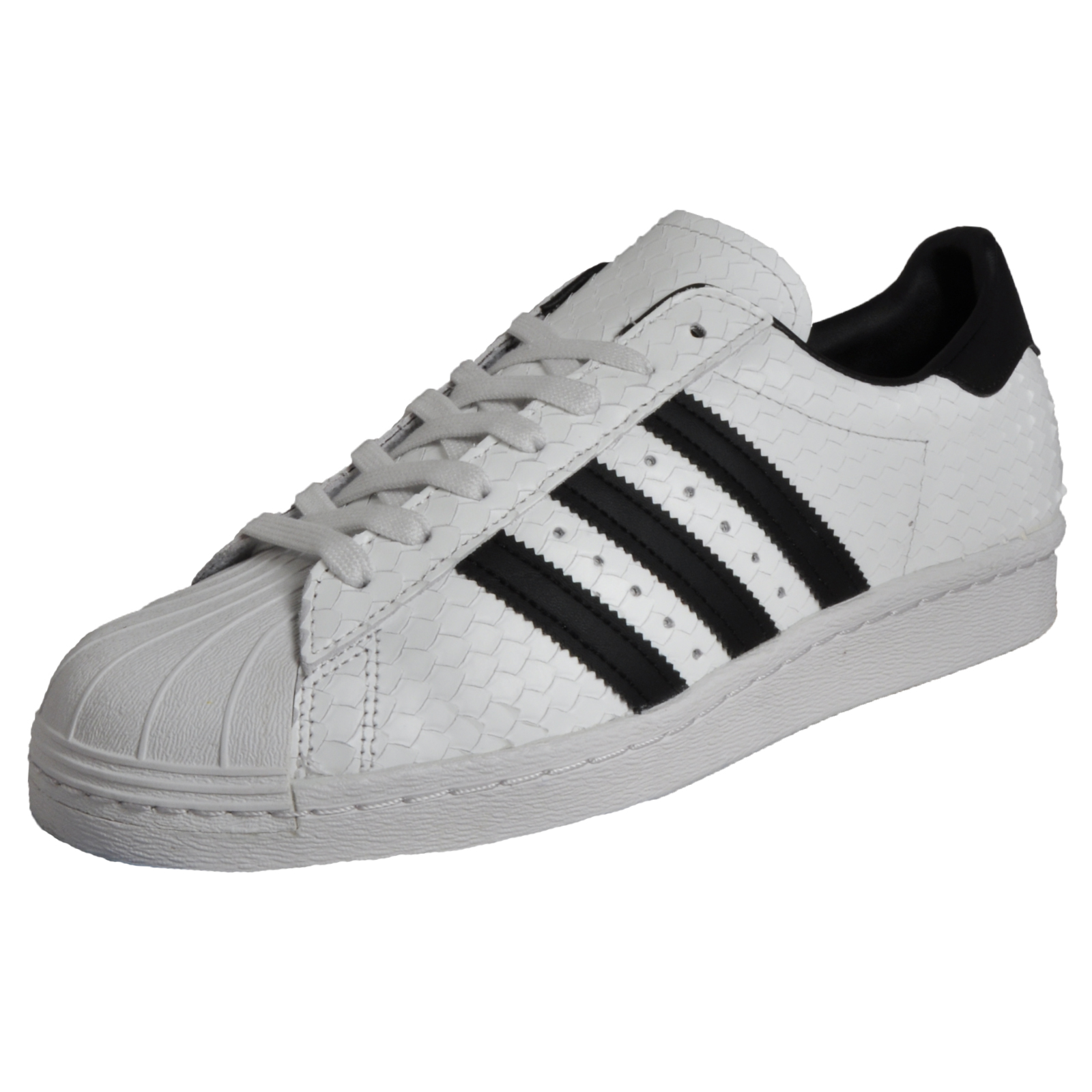 e43ce7fcd5ac Details about Adidas Originals Superstar 80s Men s Classic Retro Fashion  Trainers White LTD Ed