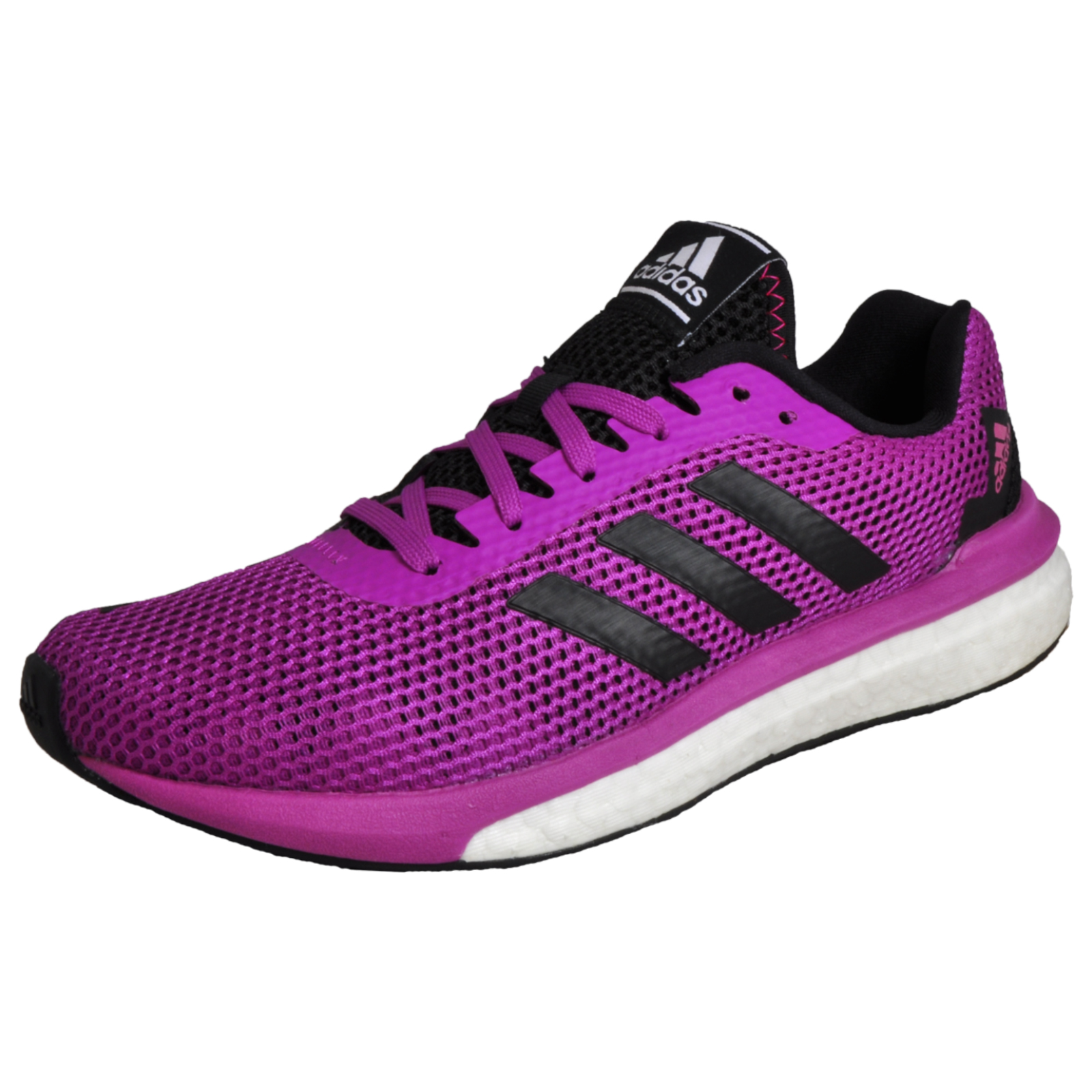8ece8a52bbc1f Details about Adidas Vengeful Boost Women s Running Shoes Fitness Gym  Trainers Purple