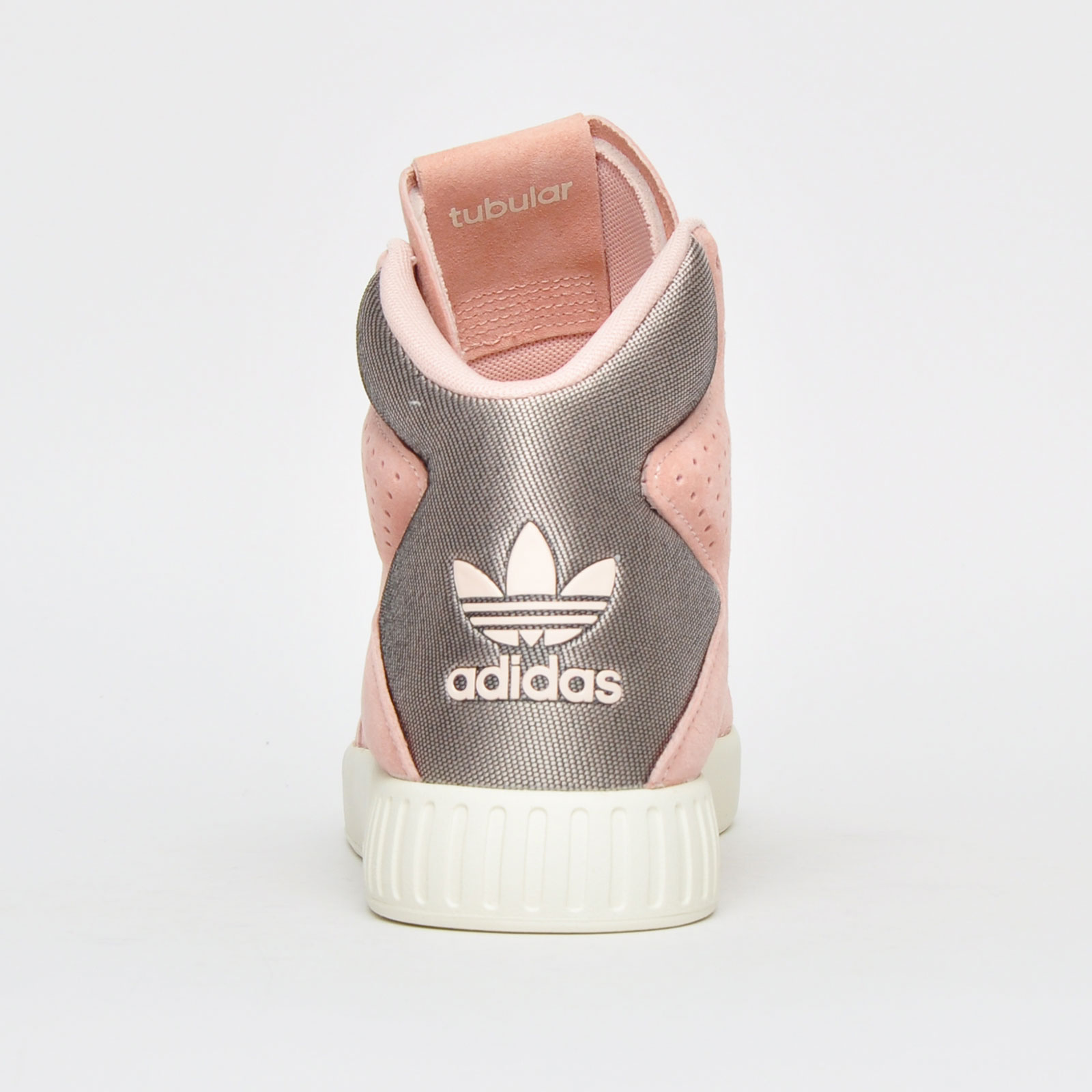 separation shoes 36d3a 6edb8 Adidas Originals Tubular Invader 2.0 Women s Girls Hi Top Fashion Trainers  Pink