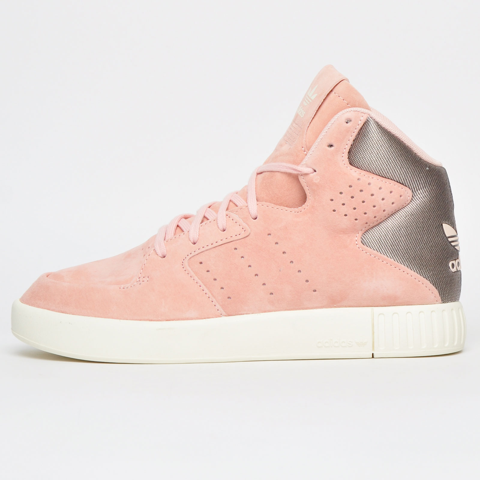 best service 8db08 917d5 Adidas Originals Tubular Invader 2.0 Women s Girls Hi Top Casual Fashion  Trainers Pink