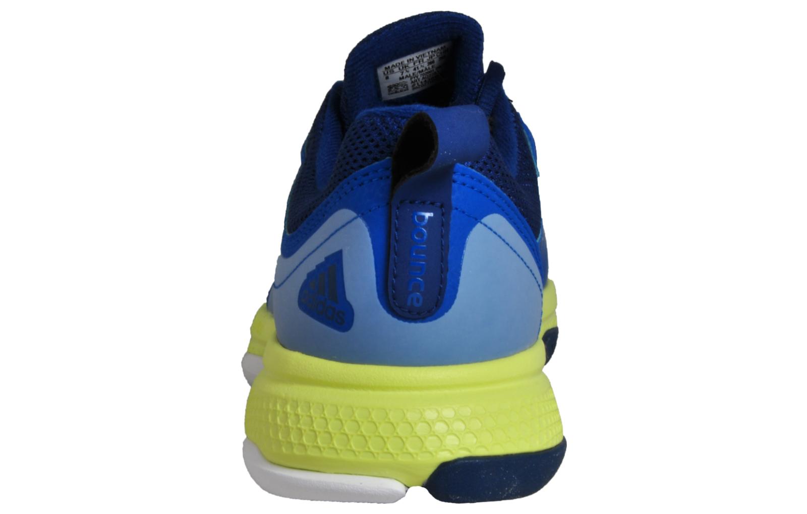 39bb4f611255b Adidas Barricade Classic Bounce Men s Tennis Court Fitness Trainers Blue