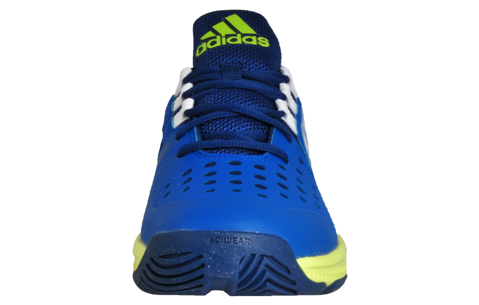55fe7a8898e Adidas Barricade Classic Bounce Men s Tennis Court Fitness Trainers Blue