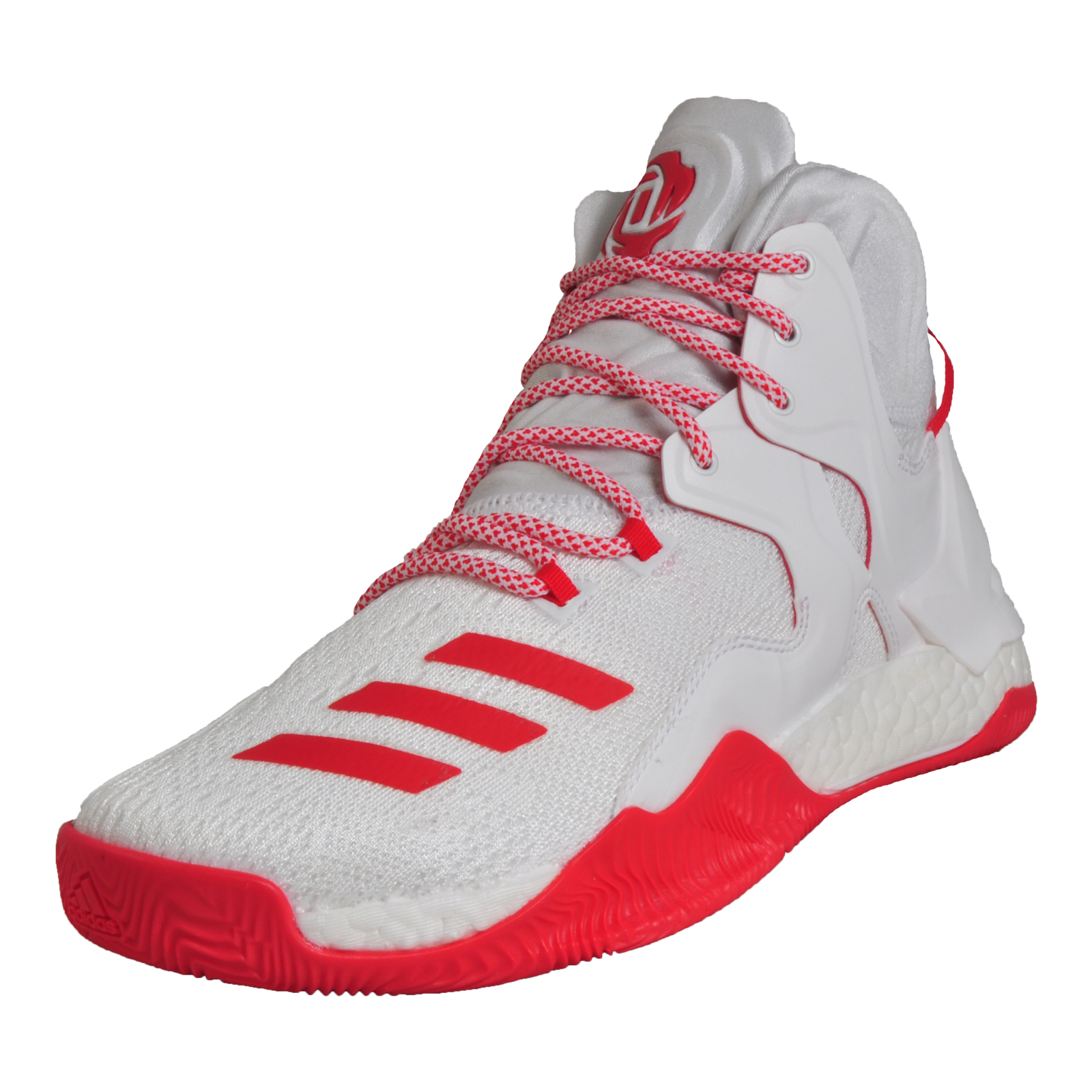 reputable site 2119a 5daf6 Adidas Mens Derrick Rose D Rose 7 Boost Premium Basketball Trainers White