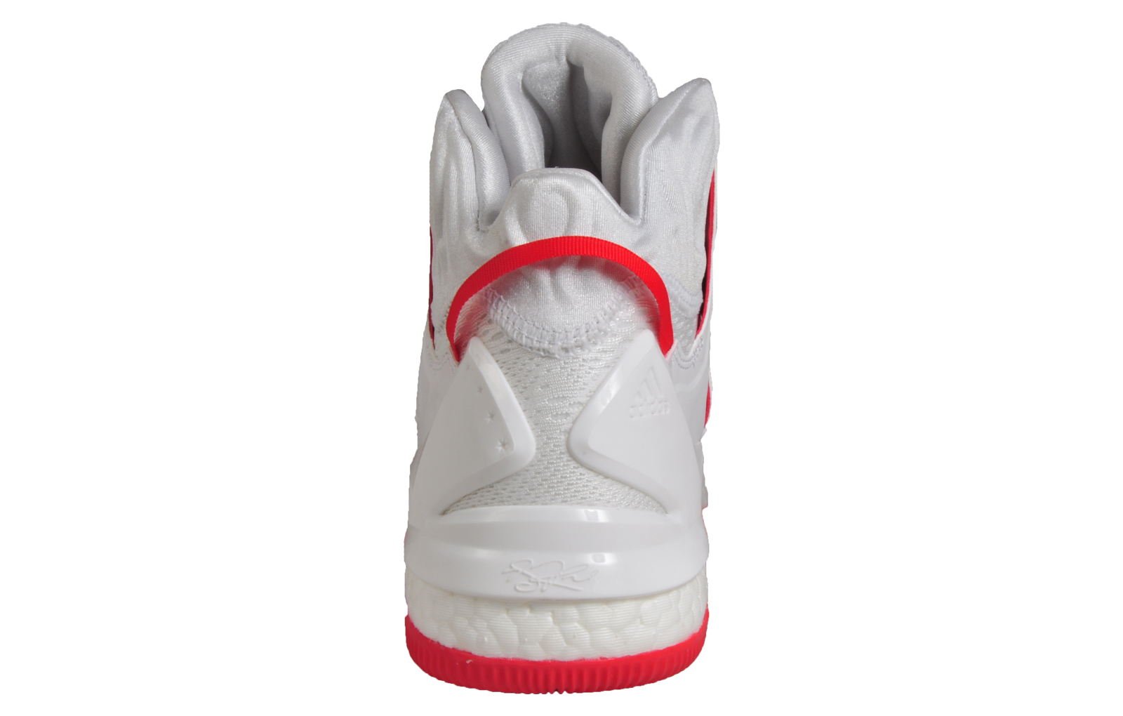 reputable site f7f5e 6dddf Adidas Mens Derrick Rose D Rose 7 Boost Premium Basketball Trainers White