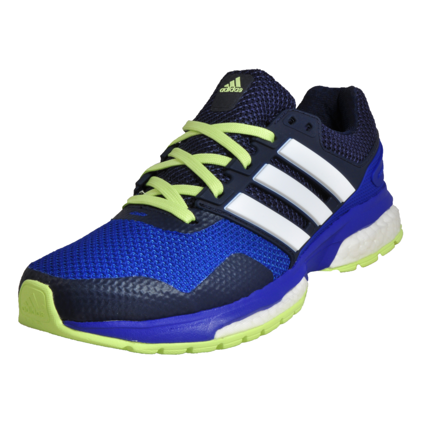44c857960eae Details about Adidas Response Boost 2 Womens Ladies Running Shoes Fitness  Gym Trainers Blue