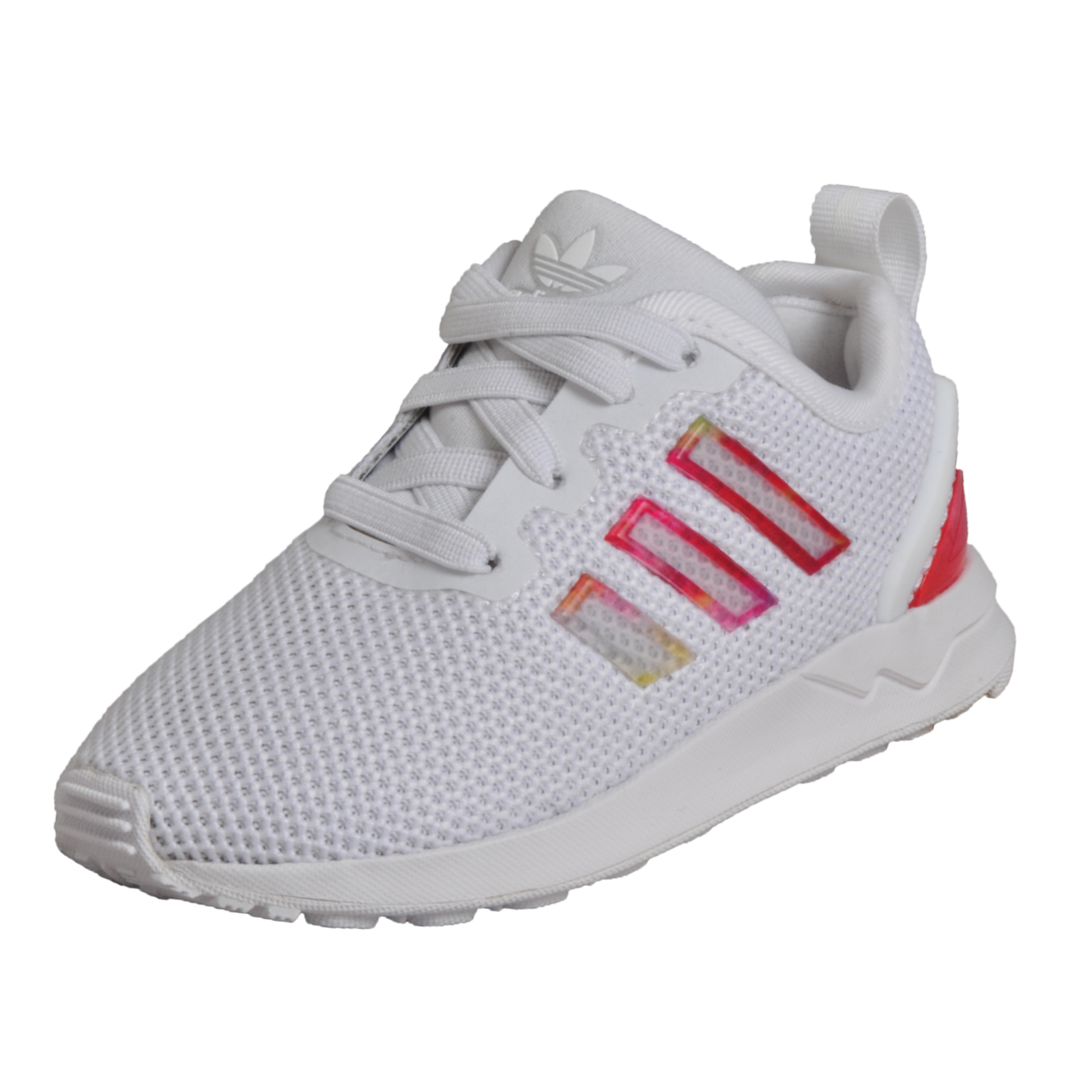 c1e2f2be9682b Details about Adidas Originals ZX Flux EL Infants Babies Toddlers Girls  Classic Casual Trainer