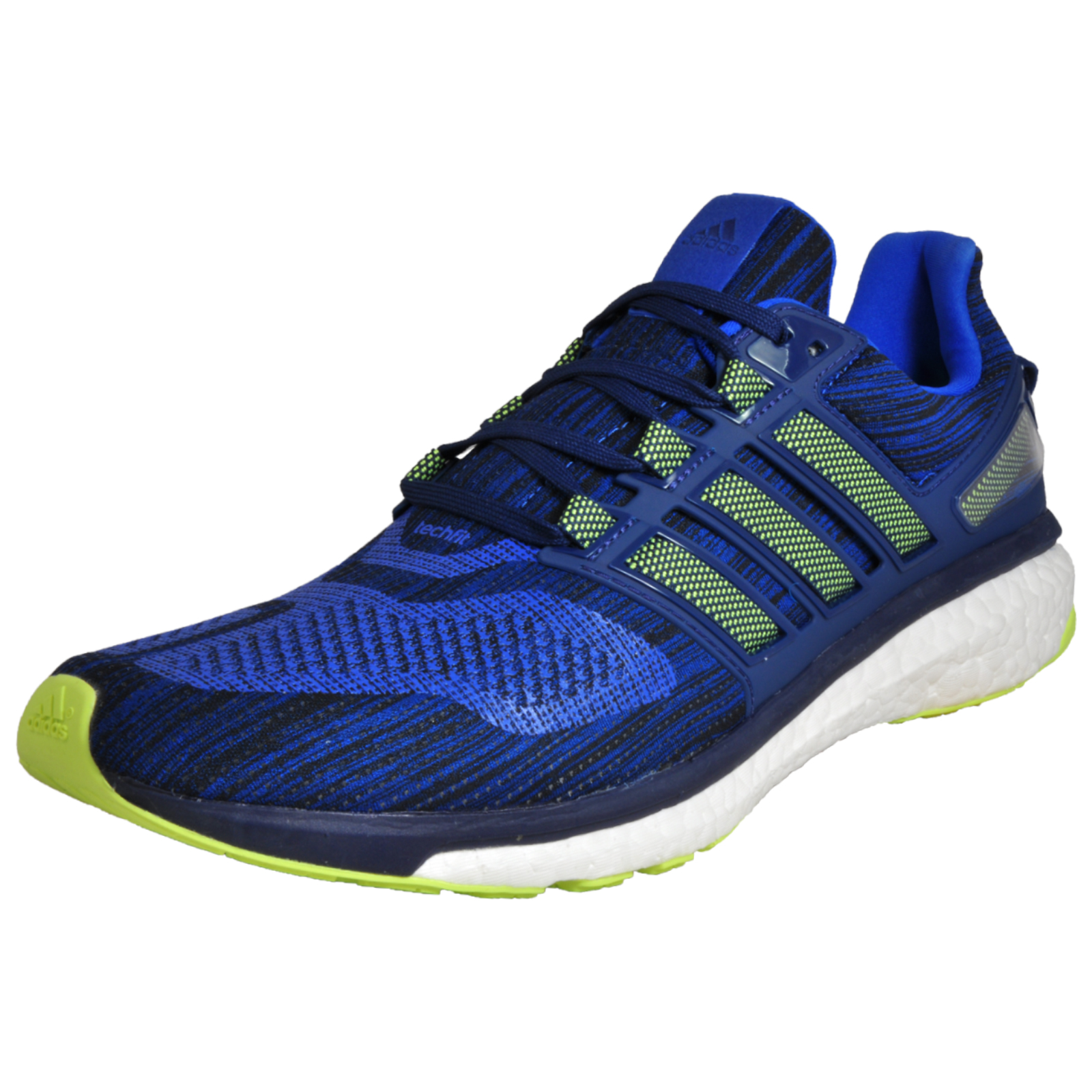 6c67b16f68d2 Adidas Energy Boost 3 Mens Superior 5 Star Running Shoes Gym Trainers Blue