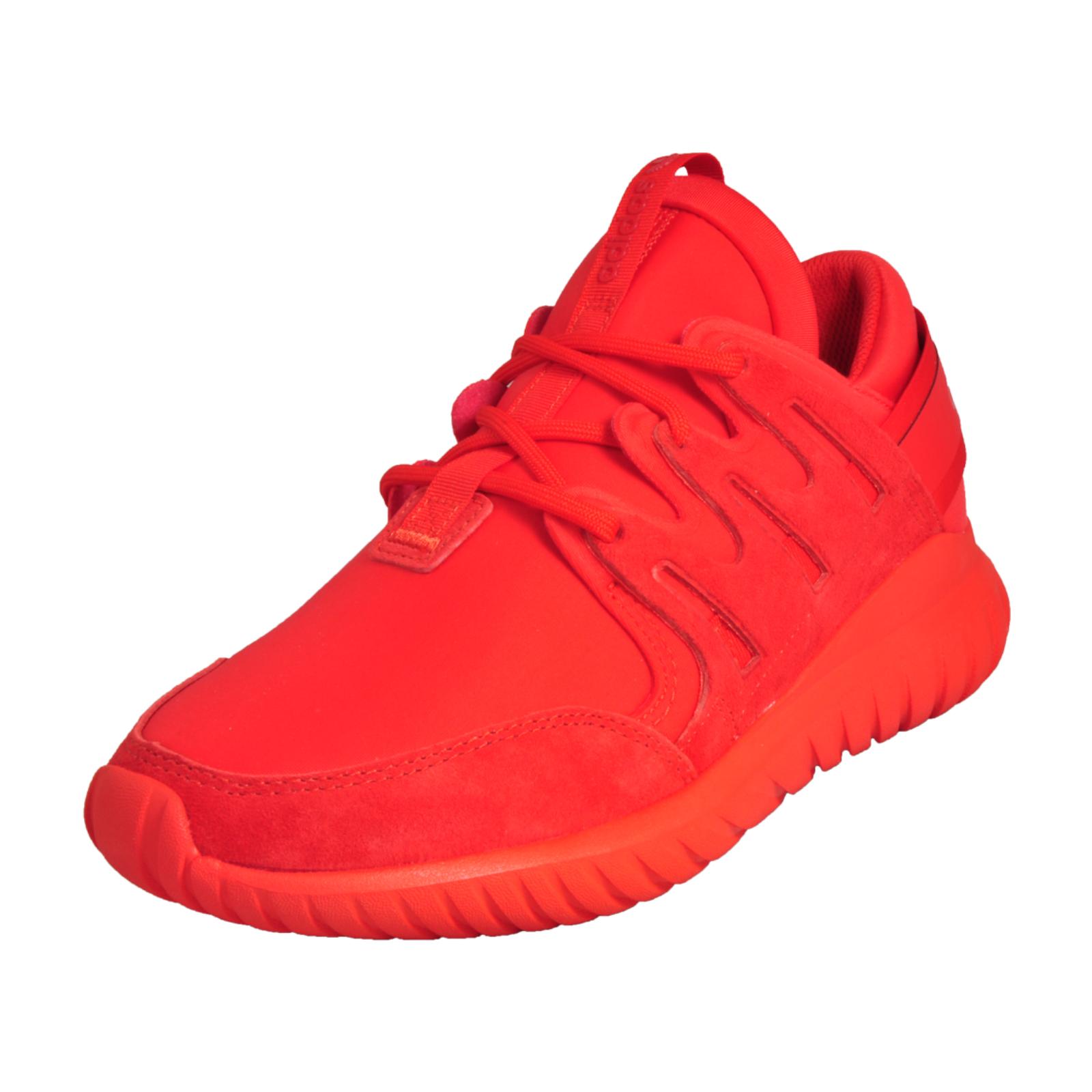 online store 64626 137b7 Details about Adidas Originals Tubular Nova Junior Premium Classic Casual  Retro Trainers Red
