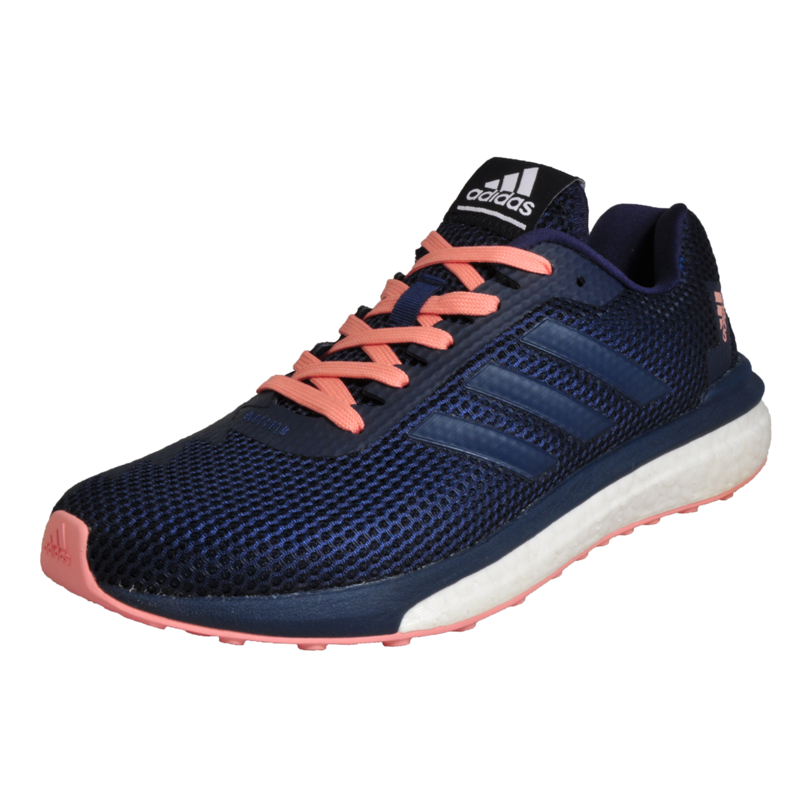 01722c347abf Details about Adidas Vengeful Boost Women s Running Shoes Fitness Gym  Workout Trainers Navy