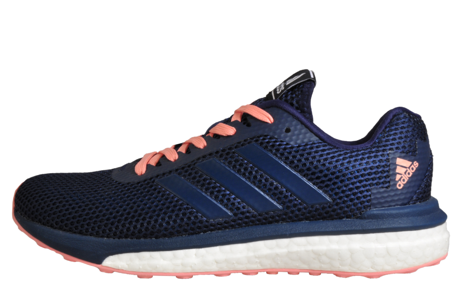 ... competitive price 9bb27 654a3 Adidas Vengeful Boost Women s Running  Shoes Fitness Gym Workout Trainers Navy ... 360d6eb4a92