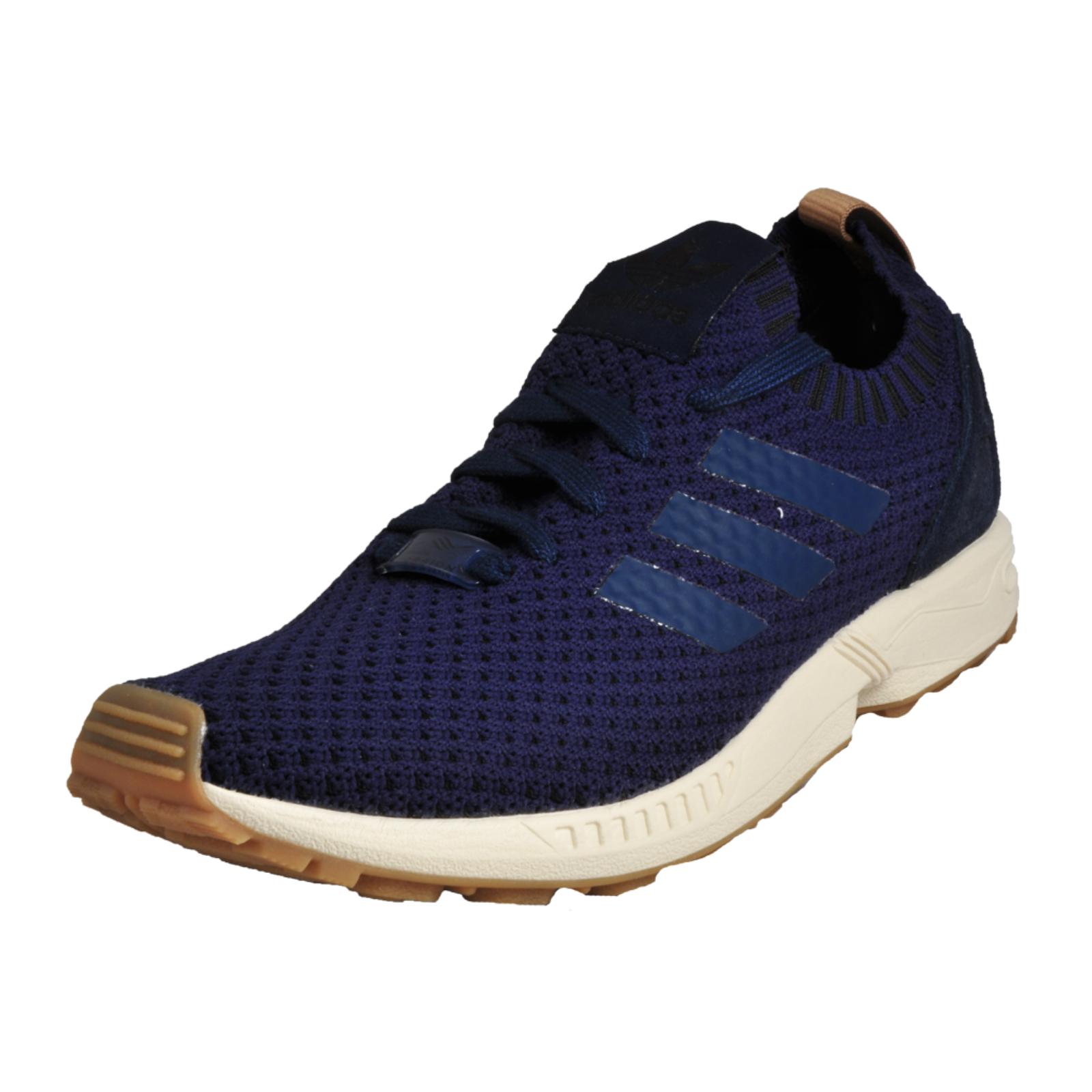 9af567d57 Details about Adidas Originals ZX Flux PK Primeknir Men s Causal Gym  Fashion Trainers Navy