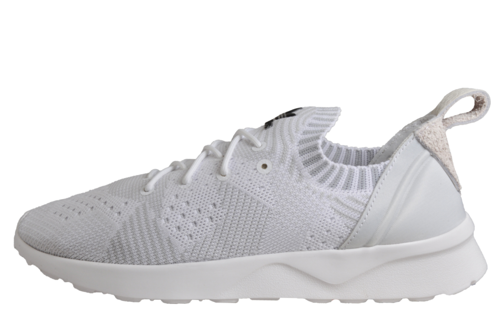 innovative design 70850 f6e51 Adidas Originals ZX Flux ADV Virtue PK Primeknit womens Classic Casual  Fitness Trainers White