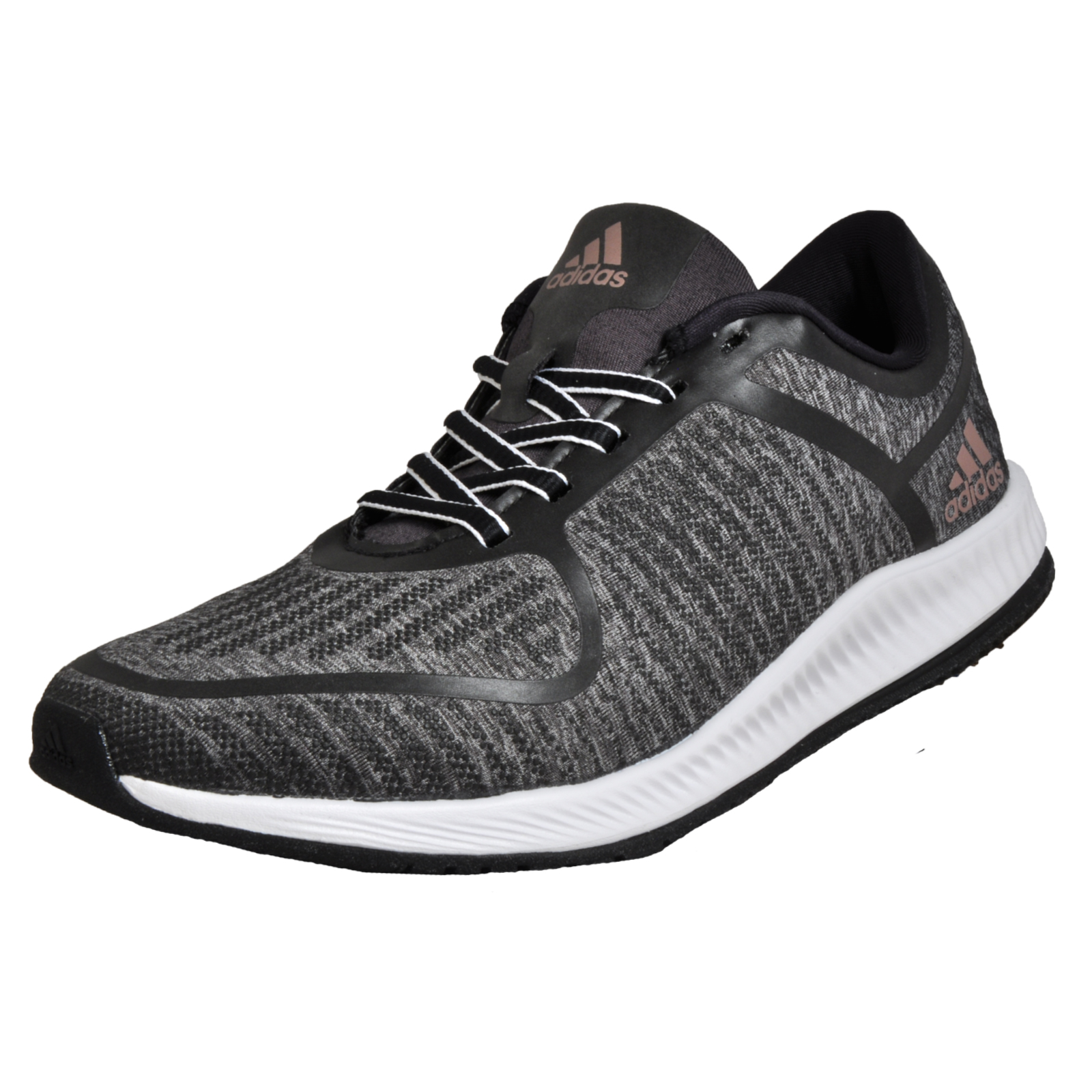 ecf3c26ce3c9 Details about Adidas Athletics Bounce Womens Running Shoes Fitness Gym  Trainers Grey