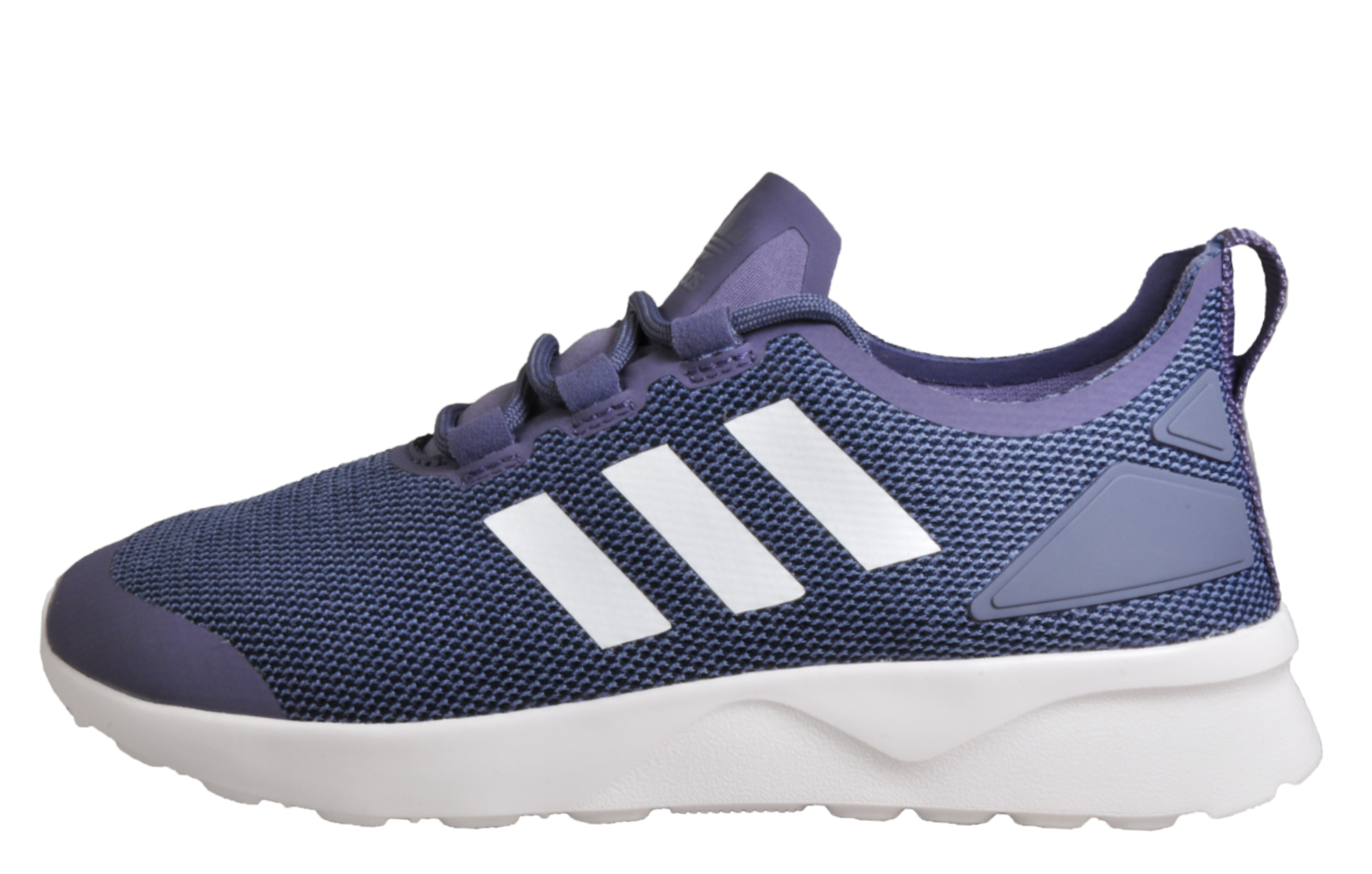 63282114b96be Adidas Originals ZX Flux ADV Verve Womens Casual Fitness Jogging Trainers  Purple