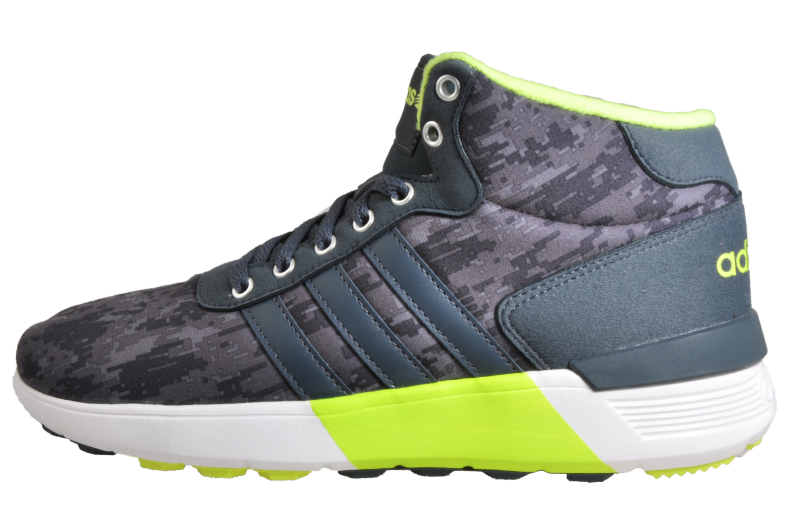 sports shoes b7d0a a760f Adidas Lite Racer Mid Mens Athletic Fashion Gym Trainers Sneakers Grey.  Manufacturers code F98725