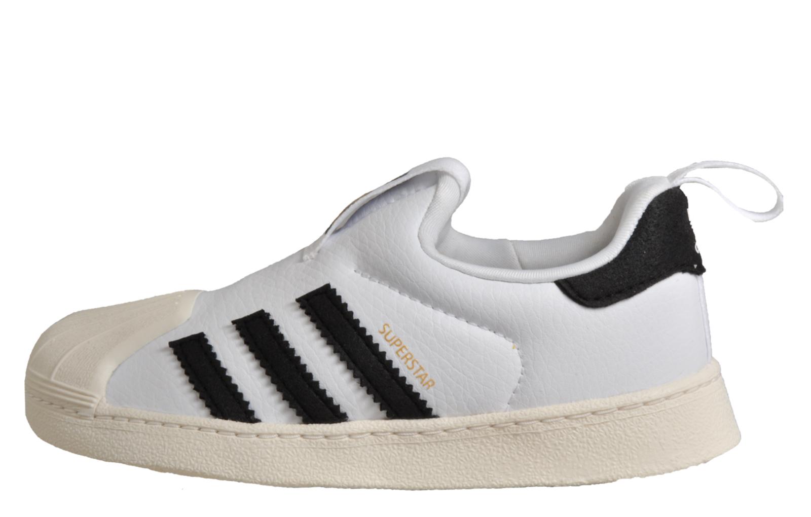 Adidas Originals Superstar 360 Infants Toddlers Babies Classic Retro  Trainers White 20dec5e86