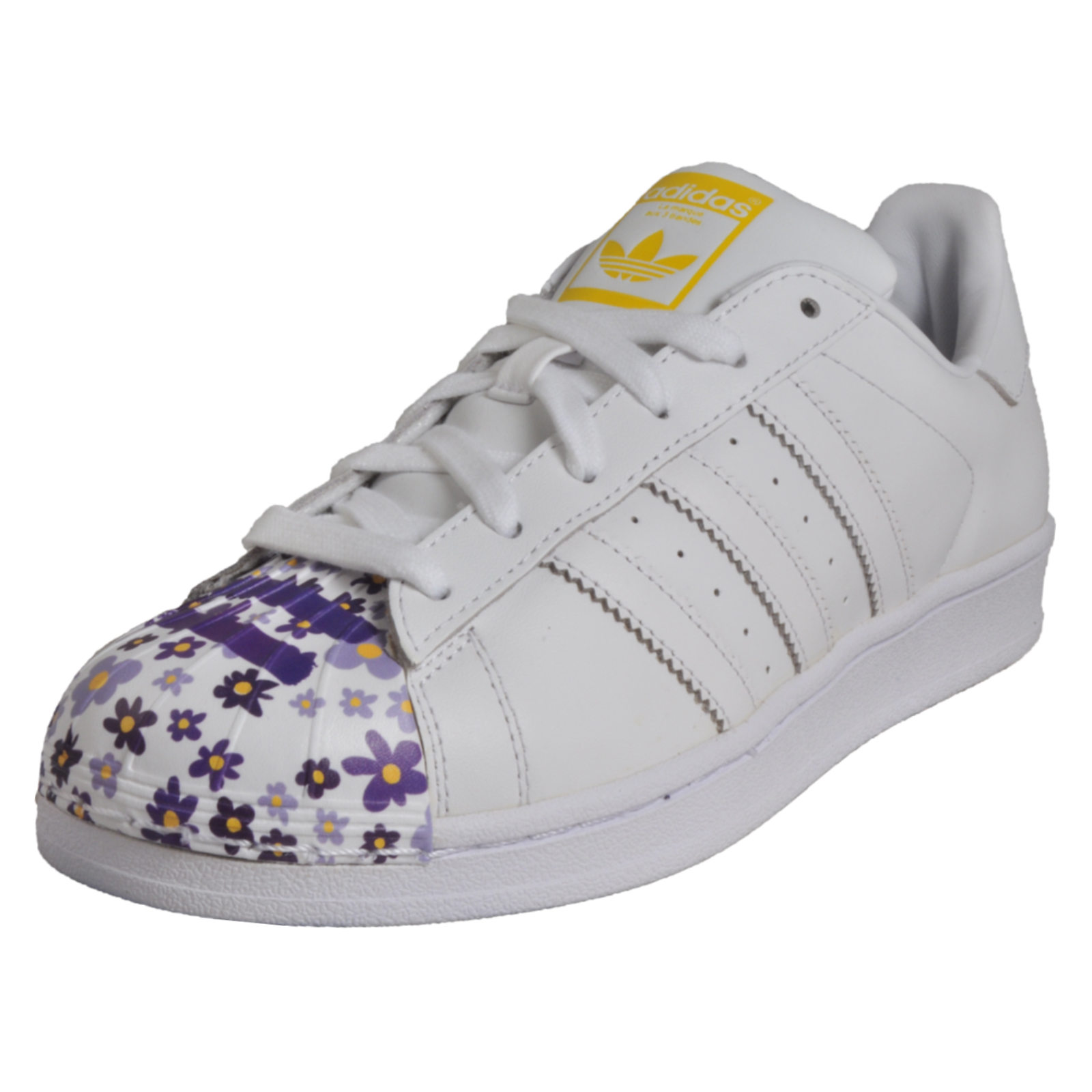 brand new 4341d 1a812 Adidas Originals Superstar Pharrell Williams Mens Leather Retro Trainers  White