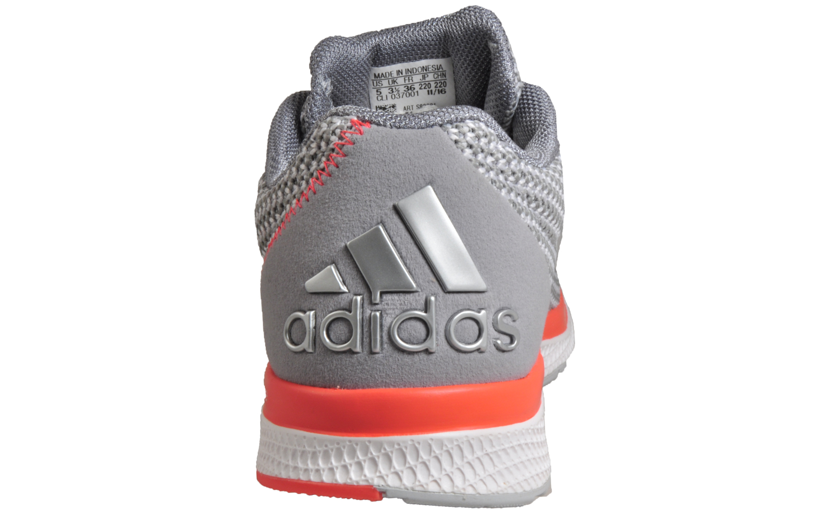 Adidas Lightster Bounce Womens Running Shoes Fitness Gym Trainers Grey f31a6a0c40df4