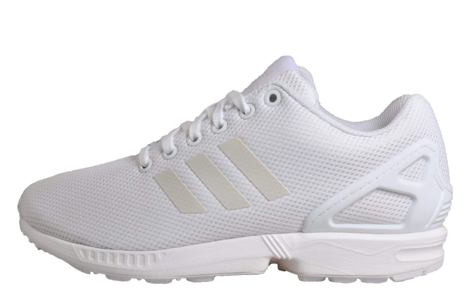 6dc4ac8af9376 ... netherlands adidas originals zx flux uni classic casual retro trainers  white uk 4 only 218c6 a6105