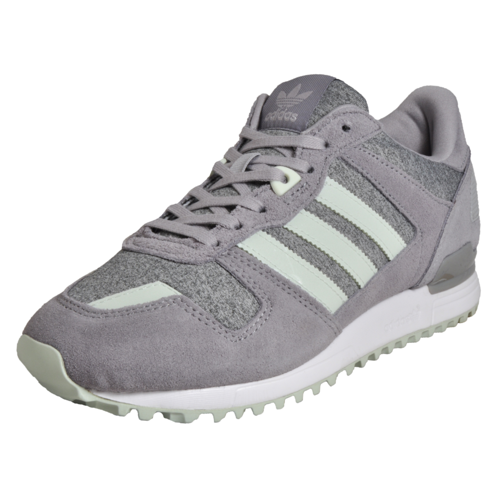 detailed look 0e650 a3657 Adidas Originals ZX 700 Womens Classic Casual Retro Running Trainers Grey