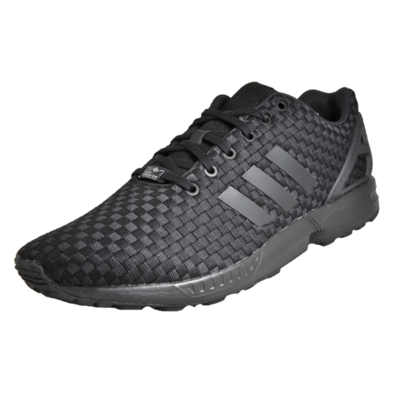 508d812d61510 Details about Adidas Originals ZX Flux Men s Casual Fitness Gym Trainers  Core Black UK 13 Only